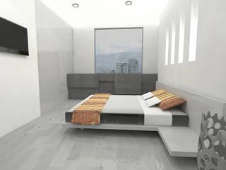 APARTAMENTO SISQUEM Habitaciones modernas de ESTUDIO DUSSAN Moderno