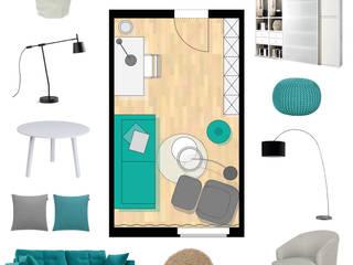 Arbeits- & Gästezimmer: moderne Arbeitszimmer von furnitects GmbH