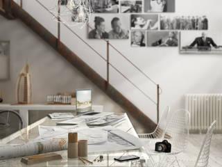 de estilo industrial por Eloisa Conti Visual, Industrial