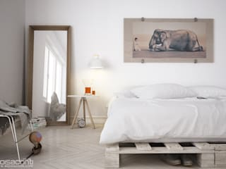 Eloisa Conti Visual BedroomBeds & headboards