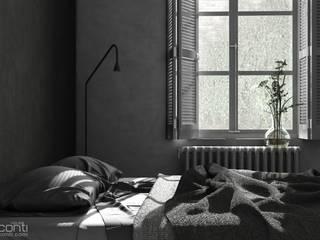 Habitaciones de estilo minimalista de Eloisa Conti Visual Minimalista