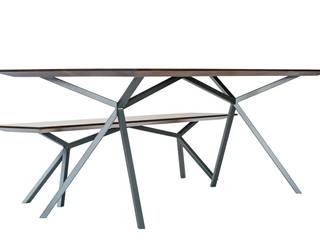 Tisch mit Bank:   von Christian Kroepfl