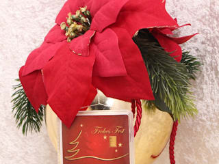 Weihnachtskugel mit 1 g Goldbarren in Geschenkkapsel:   von GP METALLUM
