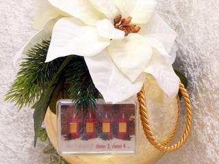 Weihnachstkugel mit  4g Goldbarren in einer Geschenkkapsel:   von GP METALLUM