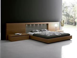 Dormitorio moderno de TC interior Moderno