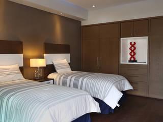 rec 2 Dormitorios modernos de arketipo-taller de arquitectura Moderno