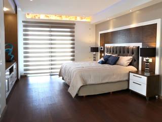 rec ppal Dormitorios modernos de arketipo-taller de arquitectura Moderno