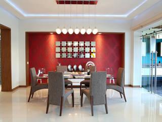 comedor arketipo-taller de arquitectura Comedores de estilo moderno