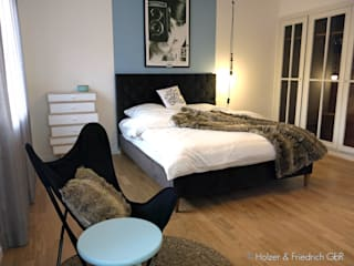 Holzer & Friedrich GbR Chambre moderne