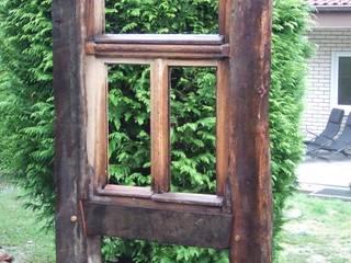 Garten Gestaltung, Fachwerk bau, Recycled Holz:  Garten von Chippie