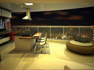 Modern terrace by Arquitetura do Brasil Modern