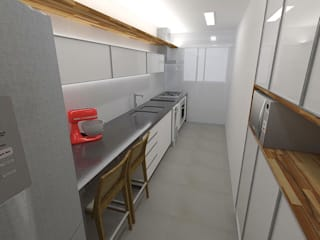 Arquitetura do Brasil 現代廚房設計點子、靈感&圖片