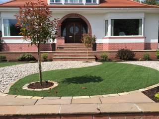 A Yin Yang Garden Jardines de estilo minimalista de Anne Macfie Garden Design Minimalista