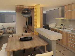 Modern dining room by Arquitetura do Brasil Modern