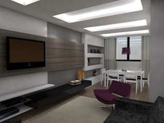 Modern living room by Arquitetura do Brasil Modern