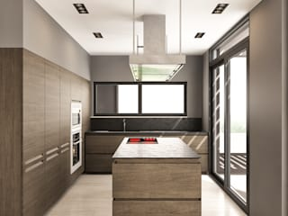 Modern kitchen by fatih beserek Modern