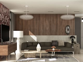 Modern living room by fatih beserek Modern