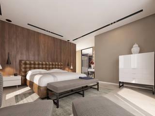 fatih beserek – İç mekan tasarım ve Görselleştirme:  tarz Yatak Odası