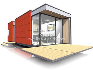 Apartament 25 Nowoczesne domy od Smart Mod Domy modułowe Nowoczesny