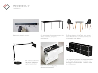 Möbel für den Empfang:  Bürogebäude von furnitects GmbH