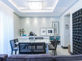 Ruang Makan Modern Oleh Paula Carvalho Arquitetura Modern