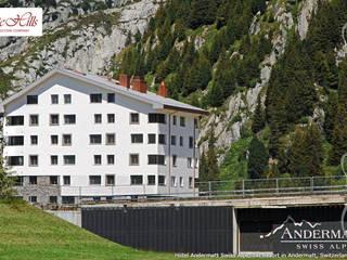 Hotéis modernos por White Hills Stones GmbH Moderno