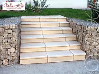 컨트리스타일 정원 by White Hills Stones GmbH 컨트리