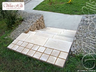 Country style garden by White Hills Stones GmbH Country