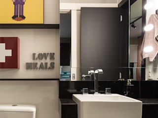 GC HOUSE: Banheiros  por Arquitetando ideias