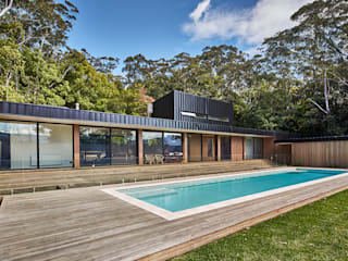 Modular Home in Berry, NSW Casas de estilo minimalista de Modscape Holdings Pty Ltd Minimalista