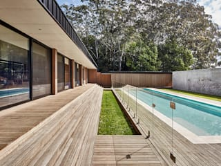 Modular Home in Berry, NSW Piscinas de estilo minimalista de Modscape Holdings Pty Ltd Minimalista