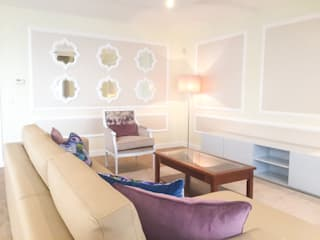 PAREDE Salas de estar clássicas por Stoc Casa Interiores Clássico