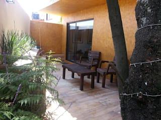 konSeptA arquitectos Terrace Wood effect