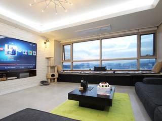 Modern living room by 필립인테리어 Modern