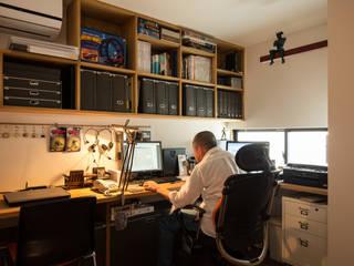 Modern study/office by 藤森大作建築設計事務所 Modern
