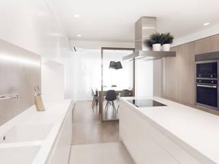 Cocina 01 Cocinas de estilo minimalista de onside Minimalista