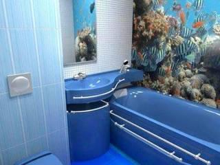 Baños de estilo moderno de Kardesler Mermerit Moderno