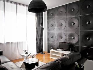 3D Decorative Panel - Loft System Design - model Speaker Loft Design System Walls & flooringWall tattoos