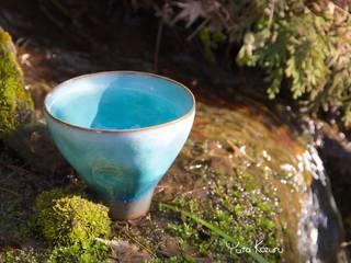 水のうつわ: 庚申窯-Koshin-kiln-が手掛けた折衷的なです。,オリジナル