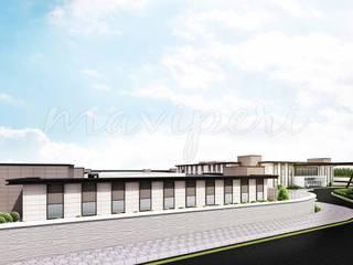 Bilkent Yüksek Güvenlikli Adli Psikiyatri Hastanesi by Maviperi Mimarlık