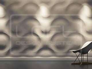 3D Decorative Panel - Loft System Design - model Curves Loft Design System Walls & flooringWall tattoos