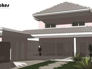 Residencia Maramar I Kubota & Backes Casas clássicas