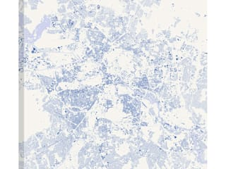 БЕРЛИН (ХОЛСТ) от Urbanmap