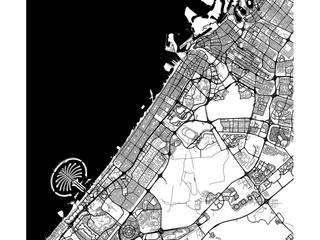 ДУБАИ (ПОСТЕР) от Urbanmap