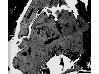НЬЮ-ЙОРК (ХОЛСТ):  в . Автор – Urbanmap