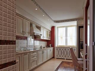Квартира для любимых родителей Кухня в стиле модерн от LUXER DESIGN Модерн