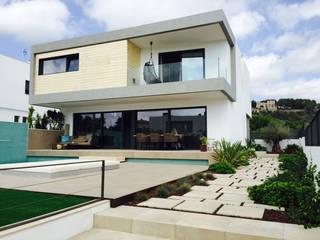Casa Wood Casas de estilo moderno de ABestudio de Arquitectura Moderno