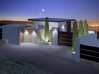 Nowoczesne domy od ABestudio de Arquitectura Nowoczesny