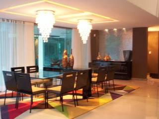 Ruang Makan Modern Oleh Deise leal interiores Modern