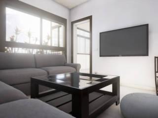 Apartamento en madrid Comedores de estilo moderno de sm3de Moderno